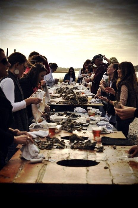 Clam Bake... Been wanting to host one for years!  THis looks like so much fun..