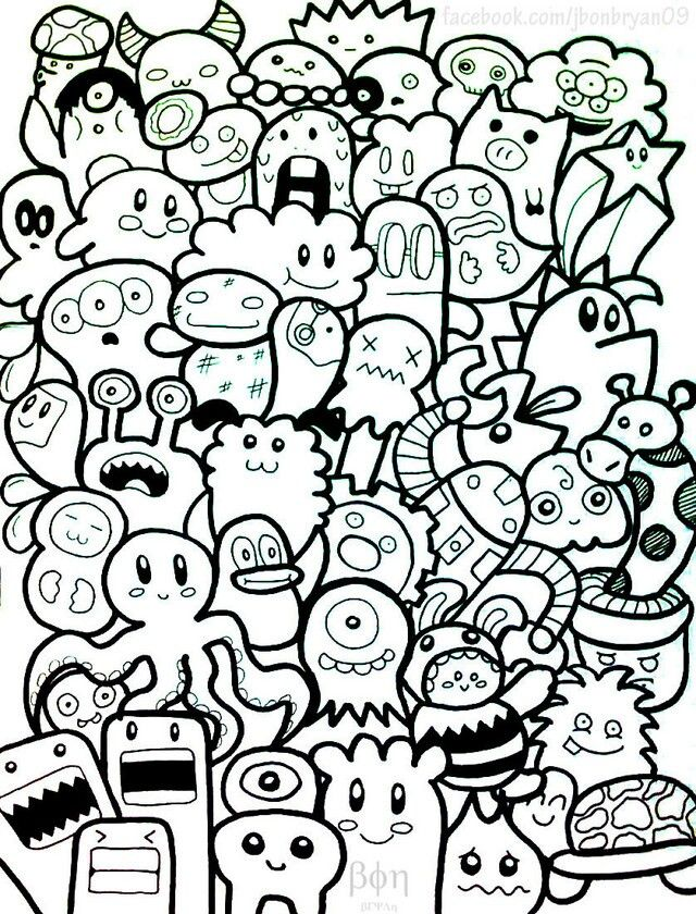Simple doodle designs.♡