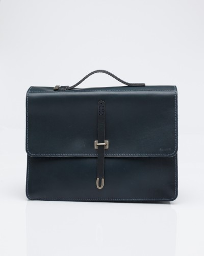 BILLYKIRK Schoolboy Satchel In Slate
