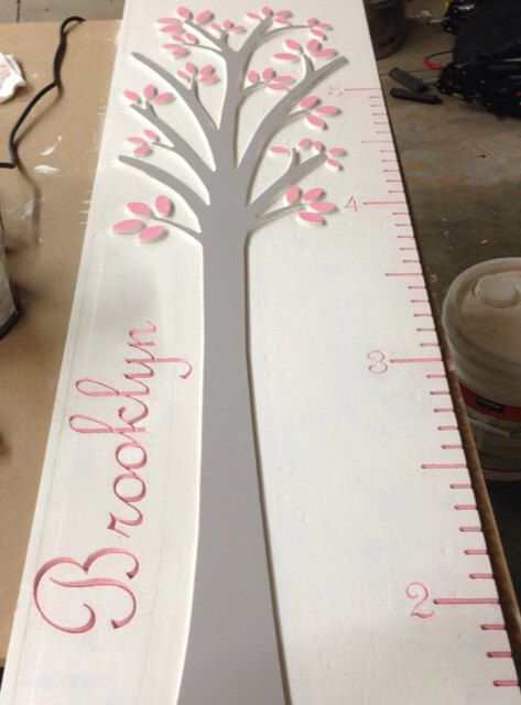Kids growth chart on Etsy