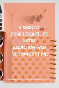 Aujourd'hui, j'accueille, sur le blog, une ancienne cliente, @Audrey Madelaine | Webmarketing + Site + Entrepreneurs. Elle va nous révéler les 5 raisons pour lesquelles votre #rédactionweb ne convertit pas.