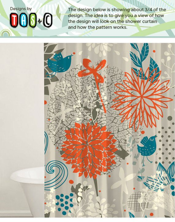 Bath Tub Curtain, Shower Curtain Set, Custom Shower Curtains, Fabric Shower Curtains, 2 Fabric Options, Bathroom Decor, Gift Ideas.  This listing is for a fabric shower curtain or a living room curtain. The material is a nice and thick which can be used for any location you need a curtain.