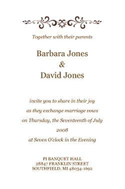 The 25 best indian wedding invitation wording ideas on pinterest indian wedding invitation wordings samples stopboris Gallery