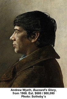 Andrew Wyeth, Buzzard's Glory, from 1968 by artimageslibrary, via Flickr