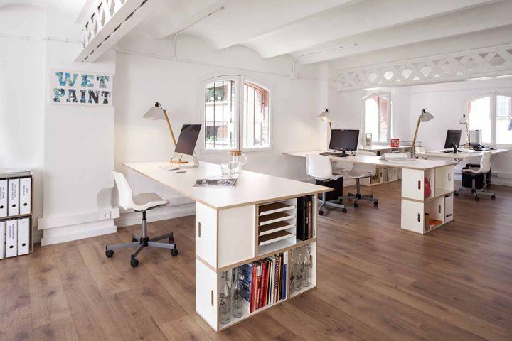 BrickBox office modular storage system by Antxon Salvador » Retail Design Blog