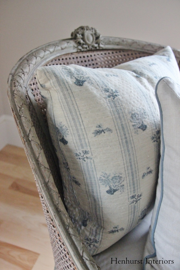 Country Swedish textiles via Henhurst Interiors