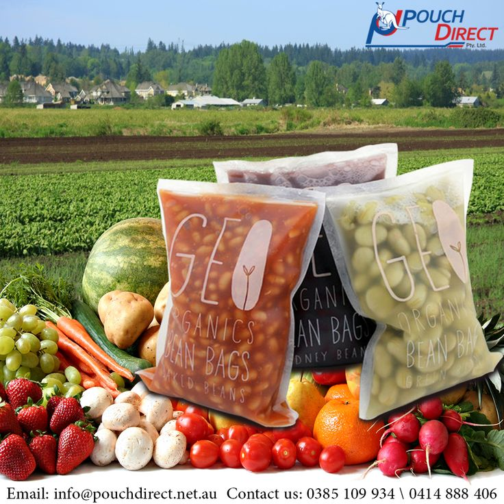 #Vacuum #Packaging #bags for Fresh-Cut #Agricultural produce. Vacuum bags are consumer luring and shelf friendly.