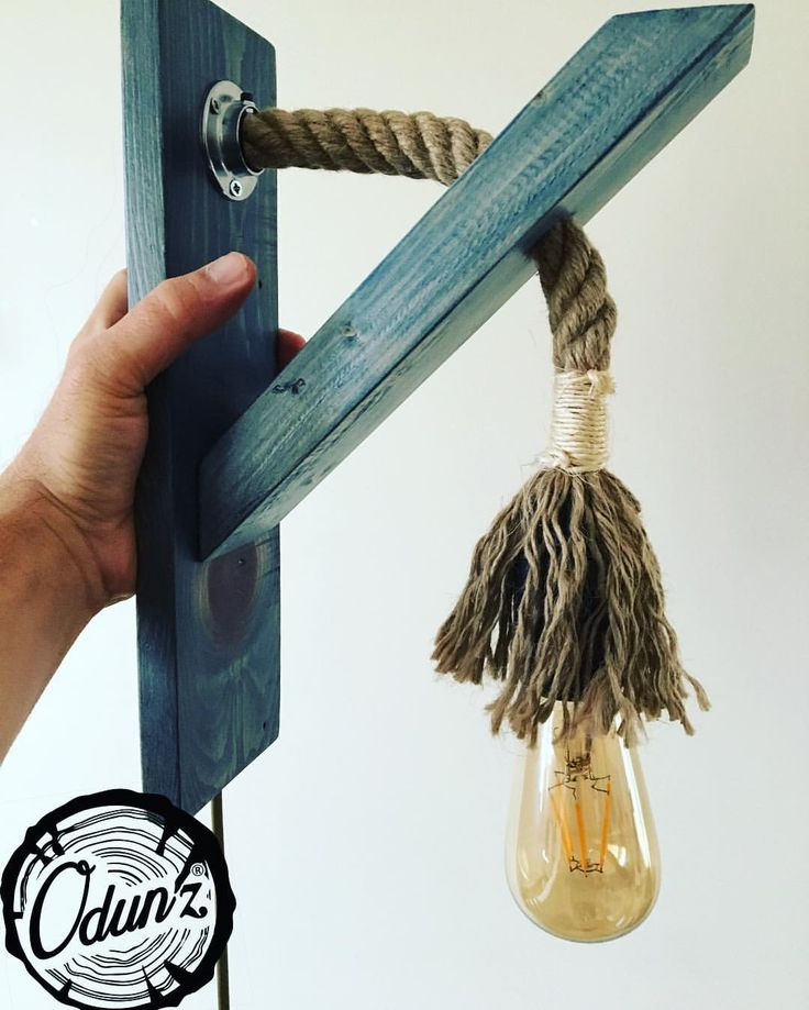 """66 Beğenme, 1 Yorum - Instagram'da Odun'z (@odunzshop): """"Odun'z Rustik Aplik Renk ve Ampül Seçeneği için  DM atınız... Hayal edin tasarlayalım Salon banyo…"""""""