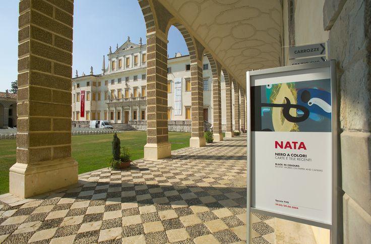 """NATA, 2004, """"NERO A COLORI"""", Villa Manin, Passariano, UDINE"""