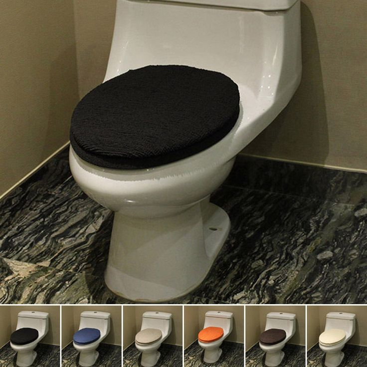 New Toilet Mat Suit Washable Comfy Closestool Cover Pad 2PC Winter Supplies #Unbranded