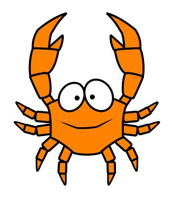 I love to draw cartoon crabs! You should give it a try! :)