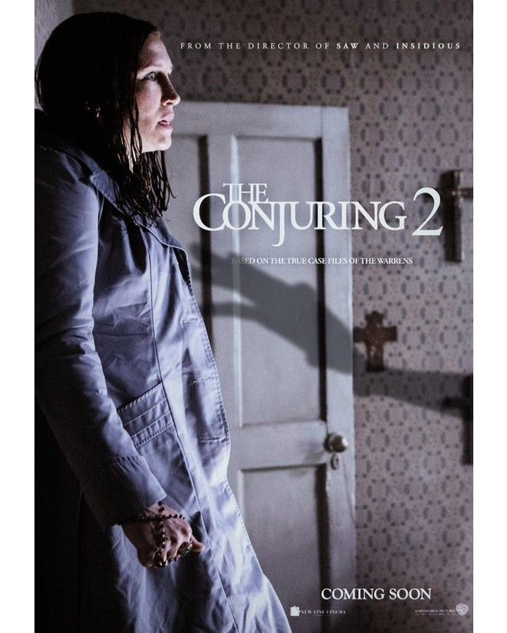The Conjuring 2 follows the Warrens as they travel to the United Kingdom to assist the Hodgson family who are experiencing poltergeist activity at their Brimsdown Enfield council house in 1977. Now showing @GenesisCinemas. #TheConjuring #Horror #Movie #Fun #Exorcism #Genesis #Cinemas