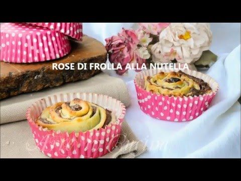 Rose di frolla alla nutella - YouTube