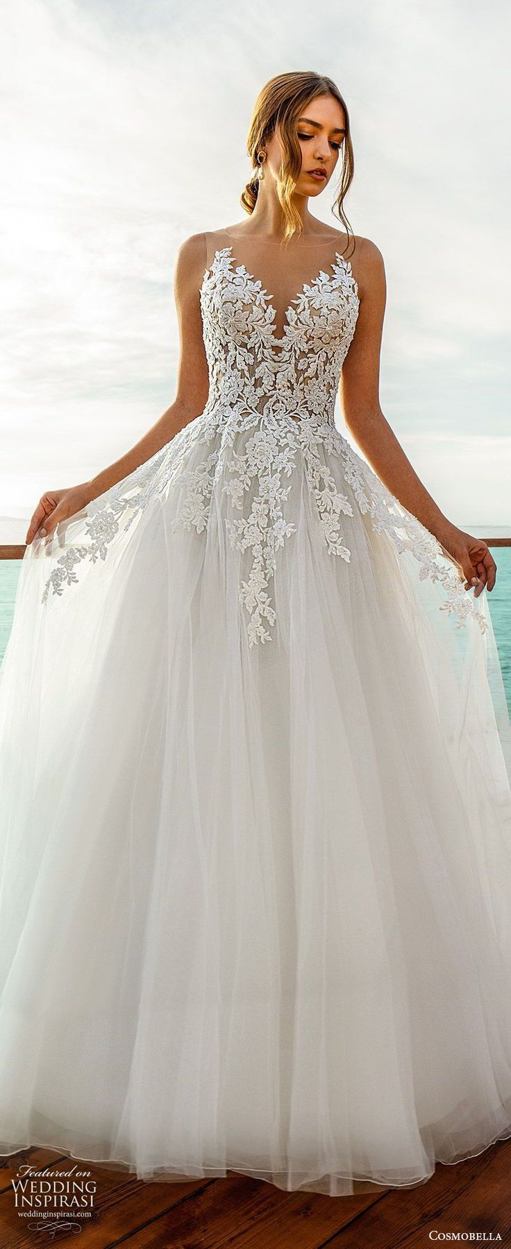 """Cosmobella 2020 Wedding Dresses — """"Eterea Eleganza"""" Bridal Collection – #B…"""