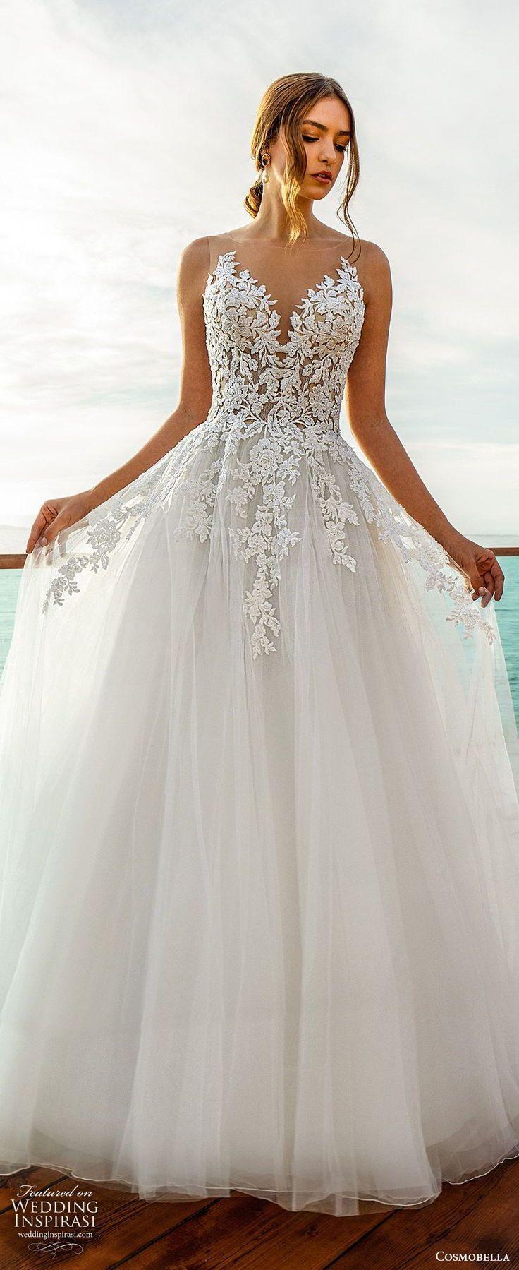 "Cosmobella 2020 Brautkleider – ""Ethereal Elegance"" Bridal Collection"