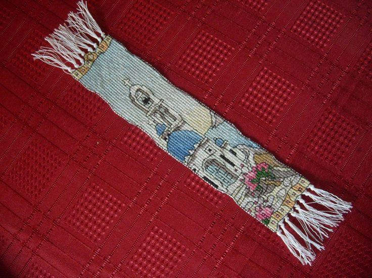 Bookmark as a birthday gift for my best friend :) ( Michael Powell Greek Island )