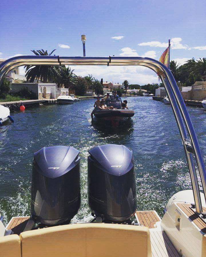 Difficult roads often lead to beautiful destinations. #cotedazur #rib #rigidinflatableboat #semirigide #bateuax #boatinglife #watersportsaddict #watersports #bruggemarinecenter #bmc #yamaha #outboards #ribcruise #boatcruise