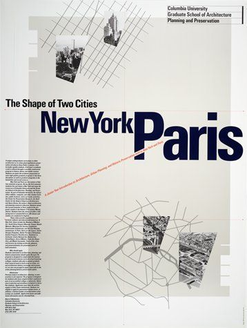 SFMOMA | Explore Modern Art | Our Collection | Willi Kunz | Columbia University, New York-Paris Poster
