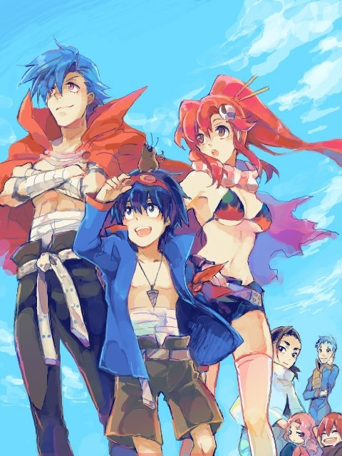 Cannot beat this for inspo, I love the colours used throughout the series and the variety in characters. Even if we dont stray too close to the mecha style used, I would love to make a nod to lagann in the story somehow