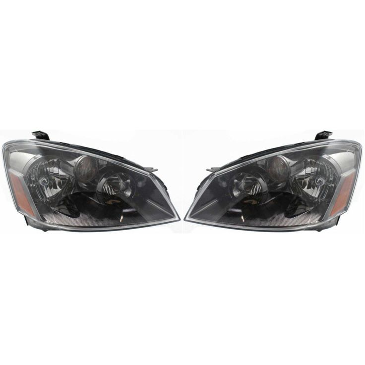Cool Great Headlight Set For 2005 2006 Nissan Altima Driver And Passenger Side W
