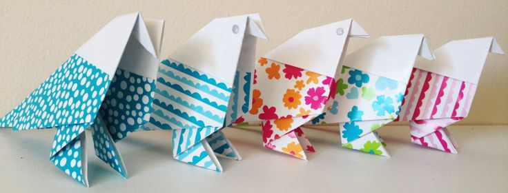 DIY : Oiseaux & Origami