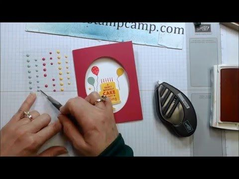 Try this Easy Peasy Fun Fold for your next Handmade card - YouTube