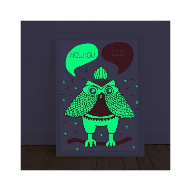 Affiche phosphorescente OMY - LOULA