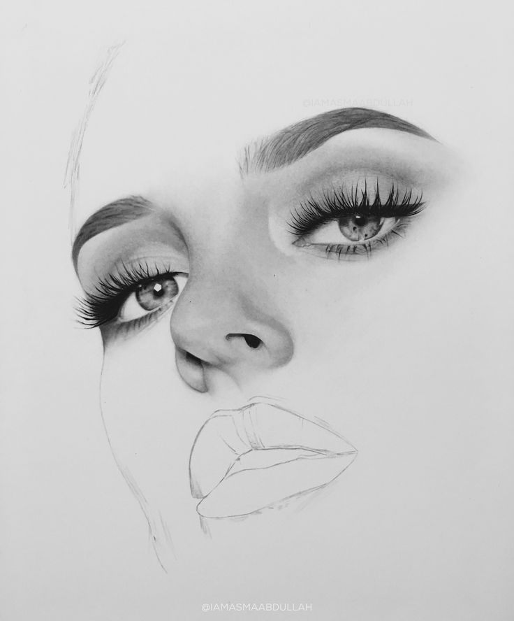 Portrait of chloe morello in progress by asma'a abdullah. part2  #drawing #portrait #art #artist #charcoal  #hyperrealisticart #photorealisticart #chloemorello #mua