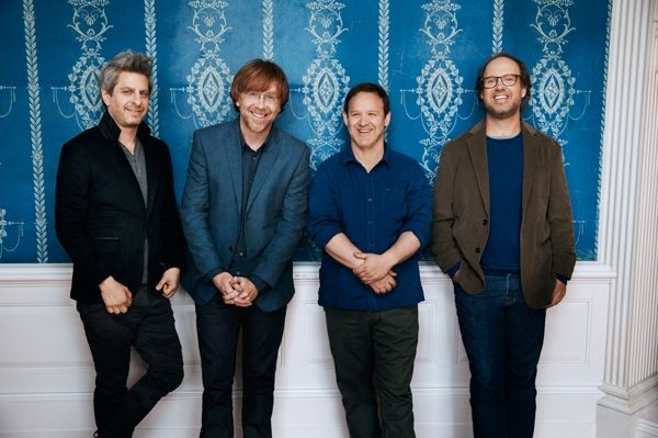 """Phish Go All-In for First Album in Five Years 'Fuego' The jam veterans call in Pink Floyd's producer for the """"groundbreaking"""" new LP - rolling stone article"""
