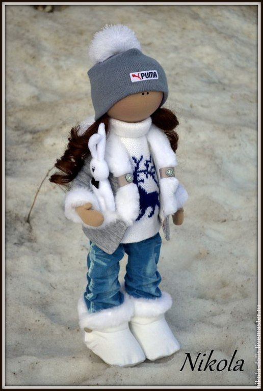 Купить Текстильная кукла Катюша. - интерьерная кукла, интересный подарок, интерьерная игрушка, текстильная кукла