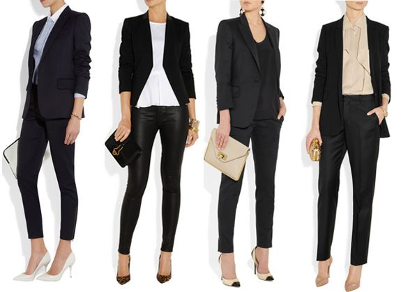 fashionable job interview outfits.. Love this article helps alot when you can't seem to find what we want to wear.