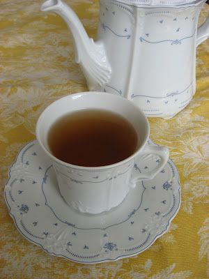 Cinnamon-Thyme Tea (Natural Remedy) for colds, flu, coughs, and sore throat.  It can also be used to help boost the immune system.