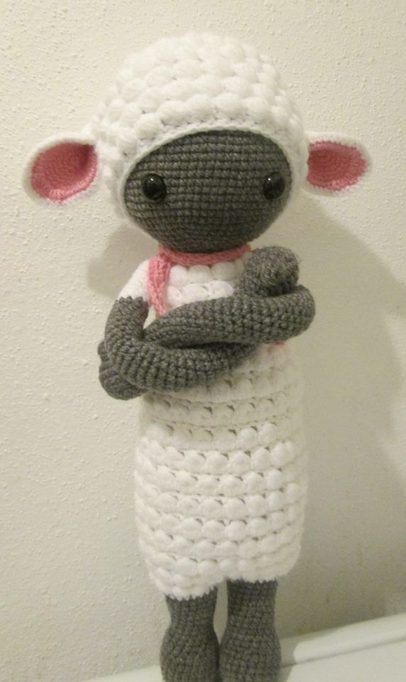 LUPO the lamb made by Dreams in Amigurumi / crochet pattern by lalylala