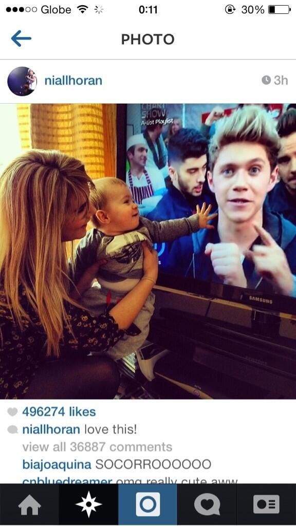 Niall posted this on IG. It's Denise and Theo>>>>>> I HAVE DIED CUTENESS OVERLOAD!!! AWWWWWWWWWWWWWWWWWWWWWWWWWWWWWWWWWWWWWWWWWW