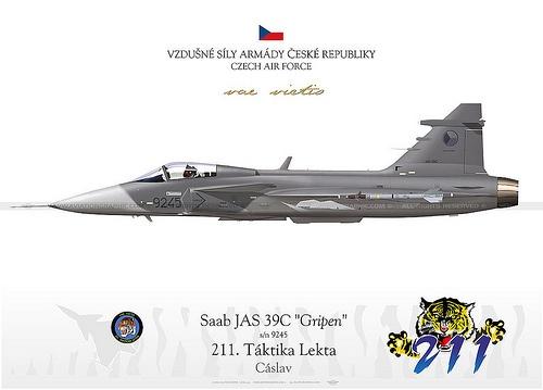 CzechRep JAS-39C 9245
