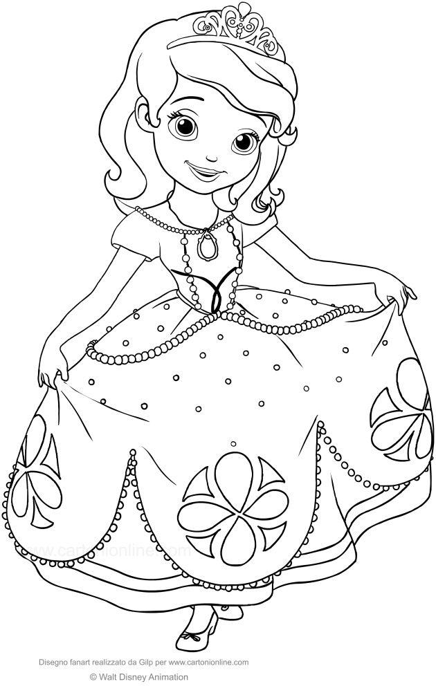 Disegni Da Colorare Principesse E Stampare Disney Princess
