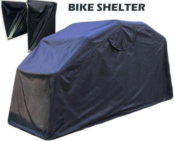 Cubierta grandes Moto Bike refugio al Aire Libre Caseta Garaje Ciclomotor Motocicleta de almacenamiento de información