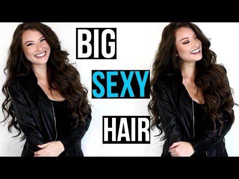 BIG SEXY VOLUMINOUS HAIR | Chelsea Houska Inspired! - YouTube