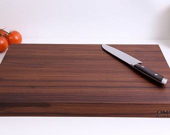 Black Walnut and Maple Cutting Board and by OmniButcherBlocks