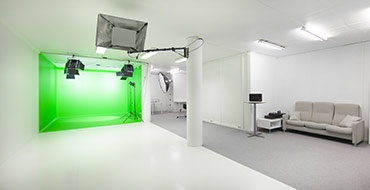 Moderne studio for film og foto