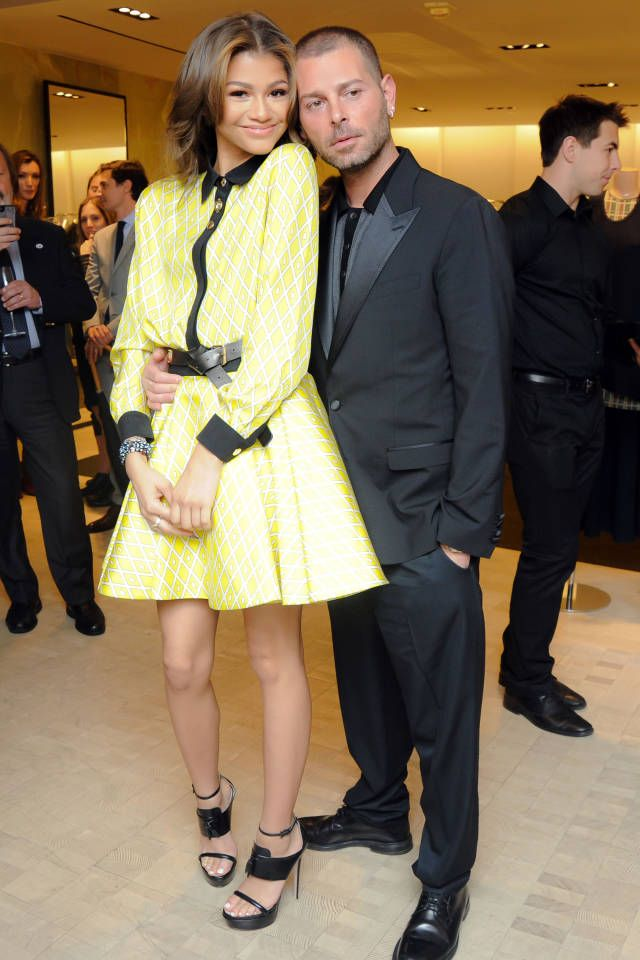 See all of the best dressed attendees at last night's Fausto Puglisi party at Bergdorfs.