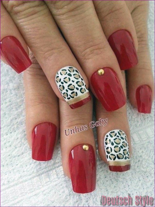 45 Stylish Leopard Prints Nail Art für die Vogue #prints #leopard #stylish – Nageldesign