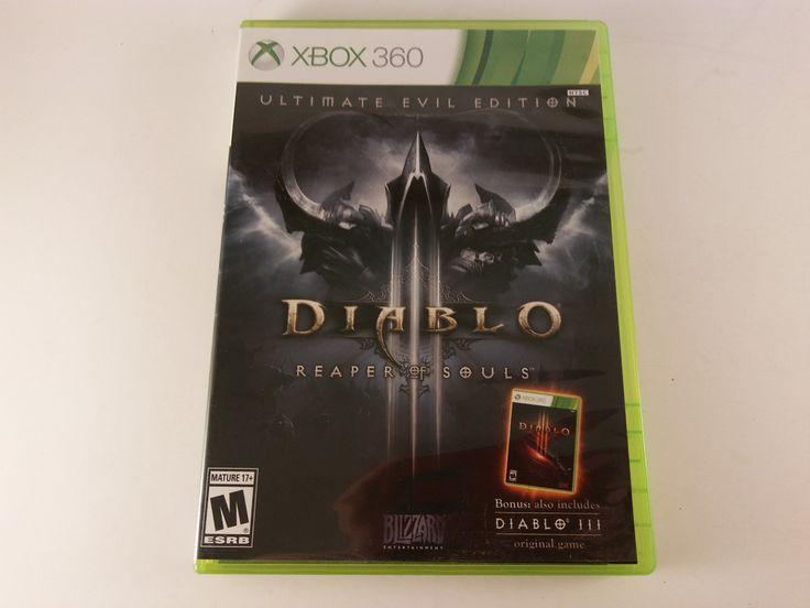 Diablo 3 III: Reaper of Souls Ultimate Evil Edition Microsoft Xbox 360 FREE SHIP