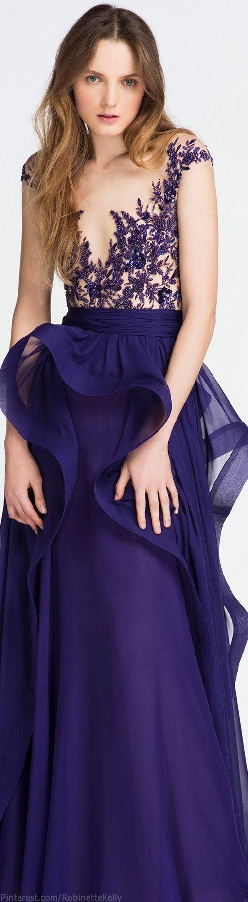 Unique Sequin Navy Prom Dress - La Femme 18898 Navy Blue Evening Gown - RissyRoos.com