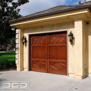 French Garage Door Pictures | French Style Garage Doors Side Door U0026  Shutters | French