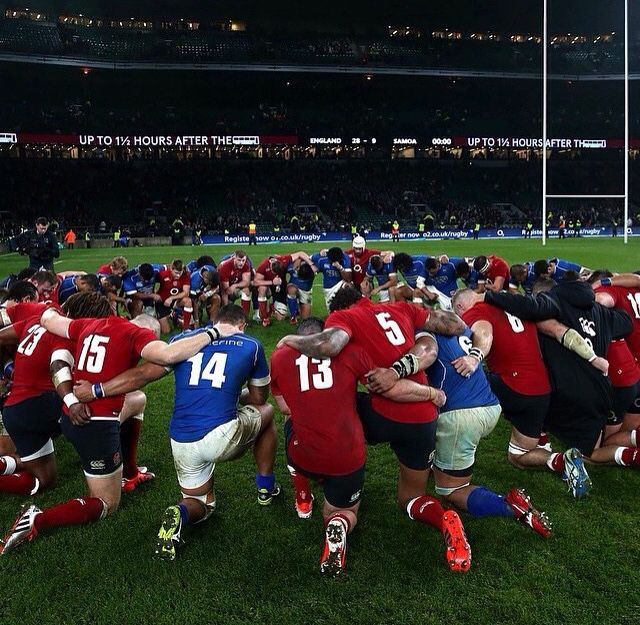 Rugby is unity