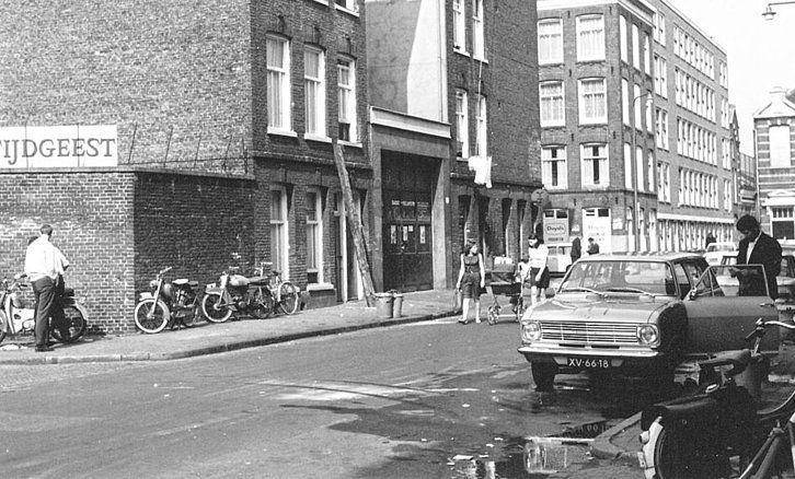 Grote Wittenburgerstraat Amsterdam (jaartal: 1960 tot 1970) - Foto's SERC