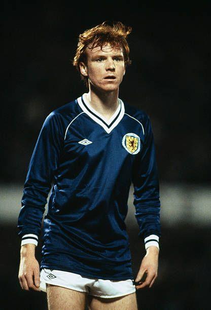 Alex McLeish Scotland 1982