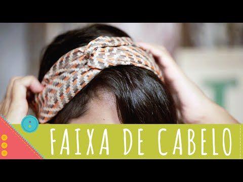 Como costurar faixa de cabelo passo a passo Descomplica! - YouTube