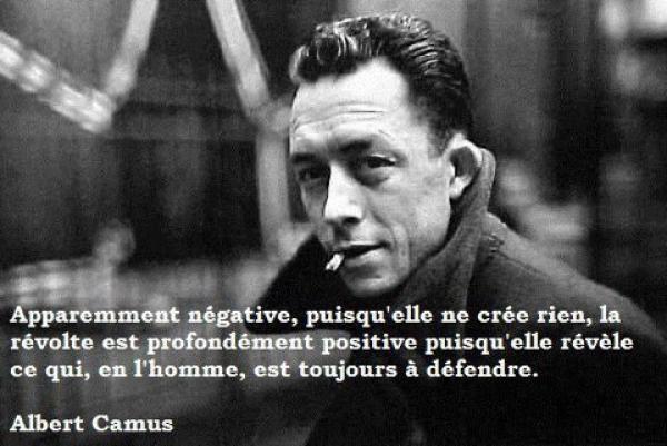 la citation du jour Albert Camus (24.06.13)